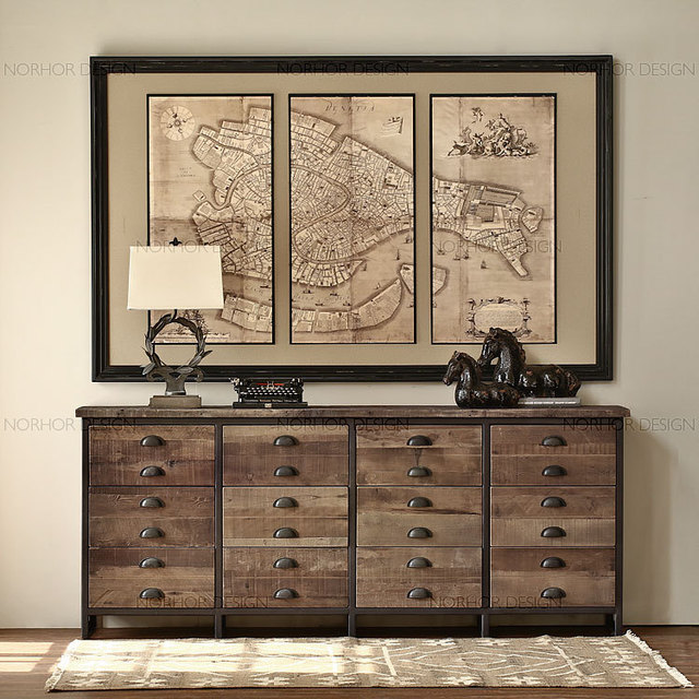 Hall Console Cabinet