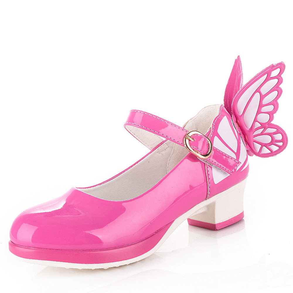 Girls Kitten Heel Shoes