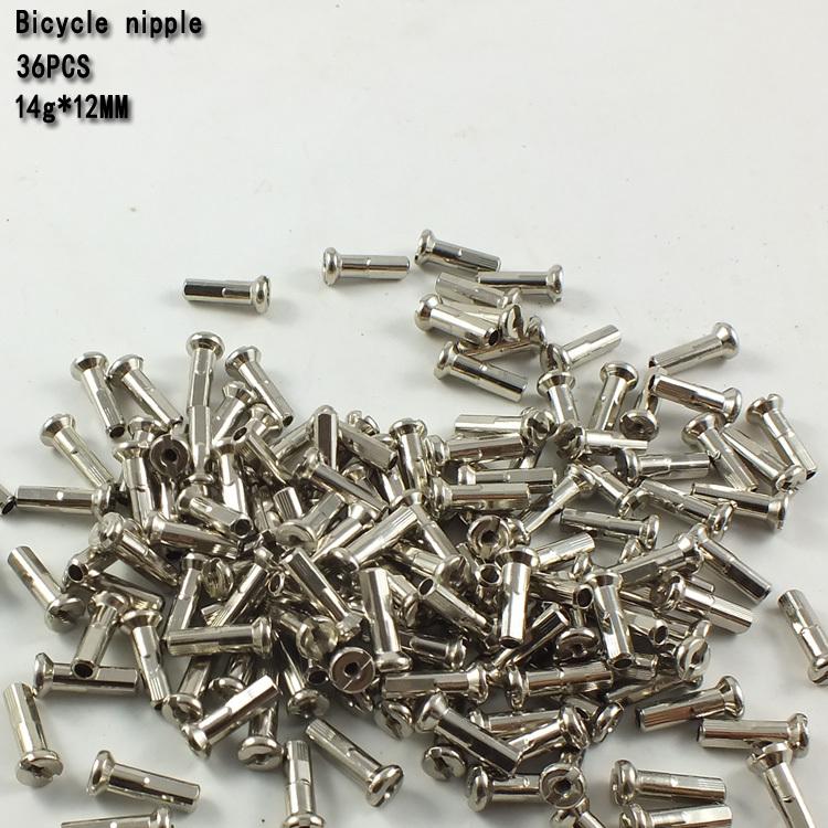 36PCS spoke nipples CU Steel Spokes Mountain Bike Spokes MTB 14G*2mm*12mm/Nipples<br><br>Aliexpress