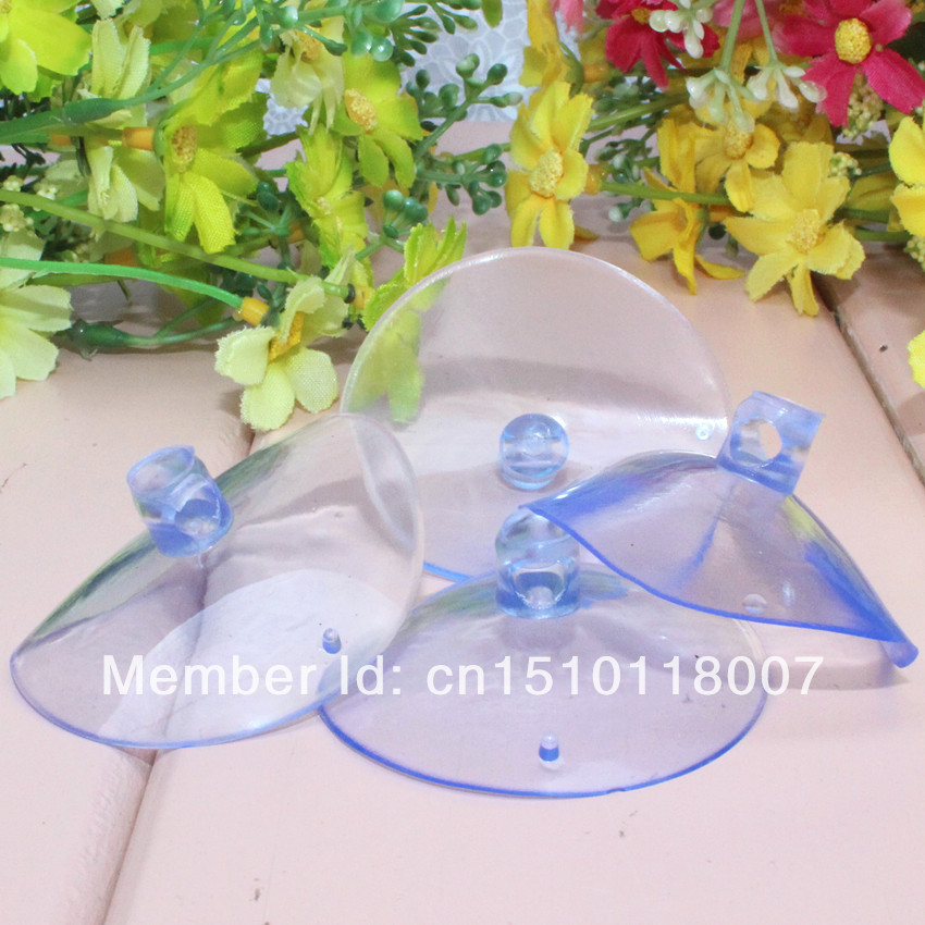 Wedding supplies decoration of potenlin hook wedding car decoration suction cup transparent rubber sucker glass suction cups(China (Mainland))