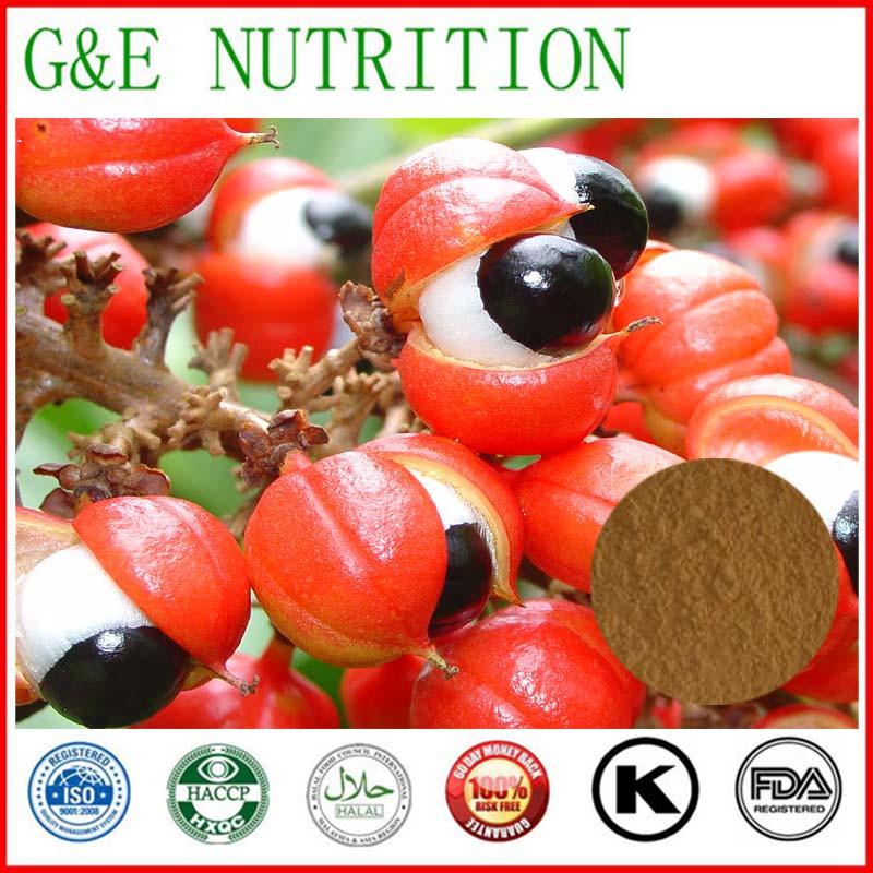 Plant Extract Caffein Guarana Seed Extract 1000g