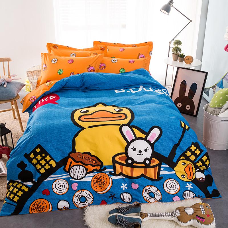 bleu housse de couette promotion achetez des bleu housse de couette promotionnels sur aliexpress. Black Bedroom Furniture Sets. Home Design Ideas