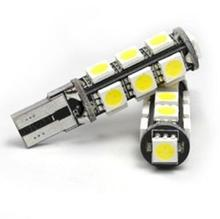 T10 5050-13SMD LED width lamp decoding decodes car reading lamp license plate lamp black car styling car accessories(China (Mainland))