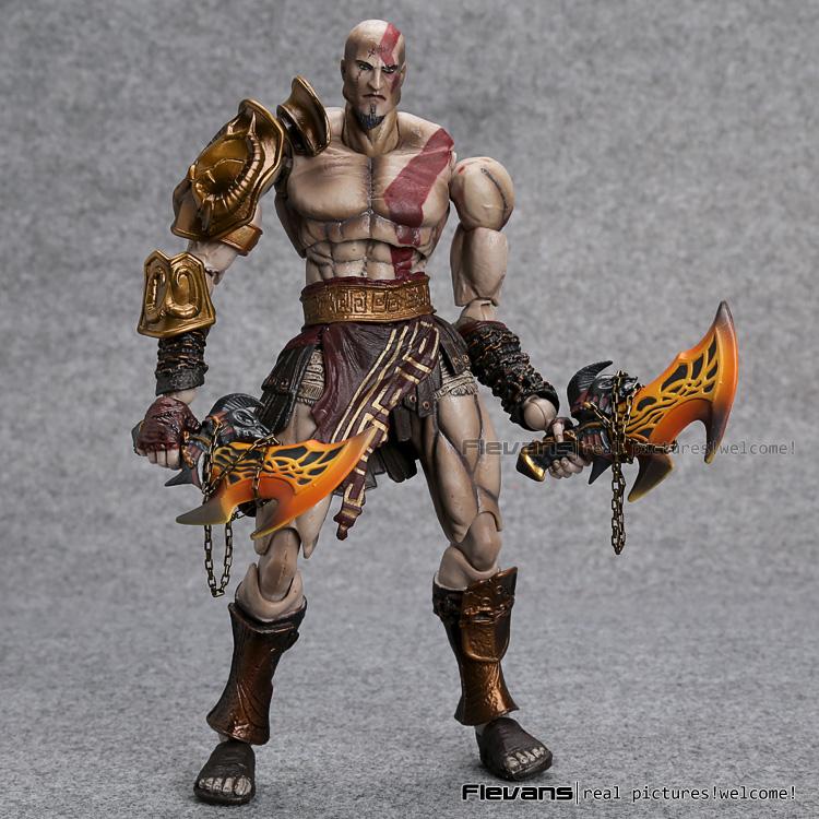 SQUARE ENIX PlayArts KAI God War Kratos PVC Action Figure Collectible Model Toy 22cm MVFG358