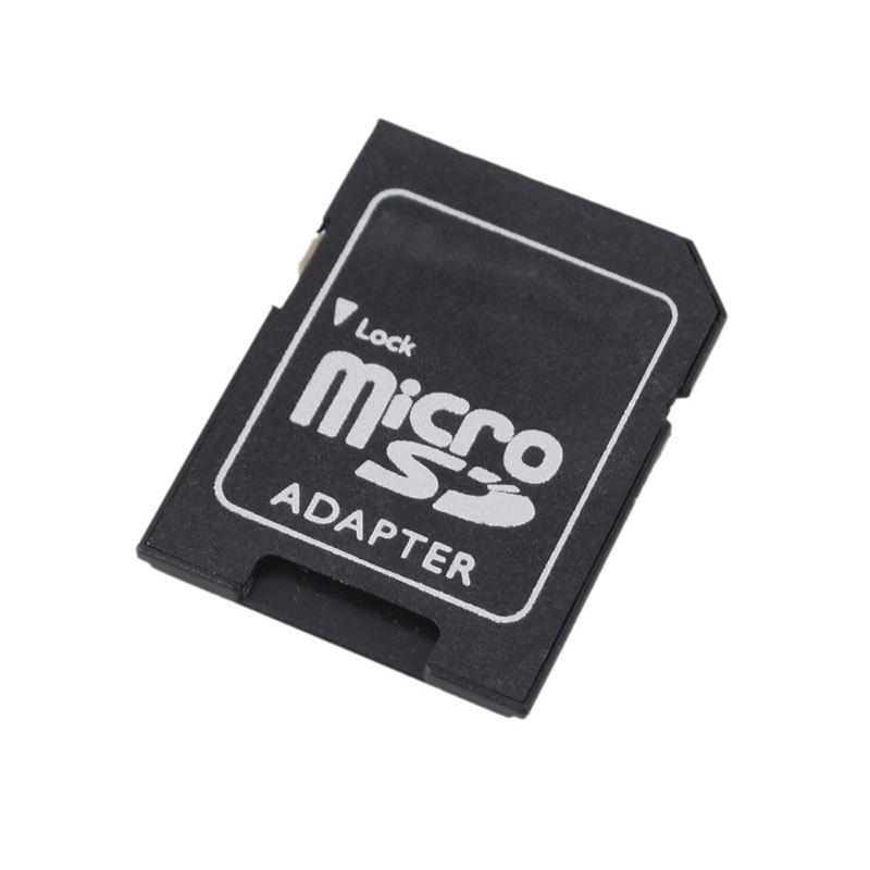 10Pcs/lot Microsd MIni TF Card Reader Micro SD to SD Memory Card Adapter Converter New Hot Sale #47063(China (Mainland))