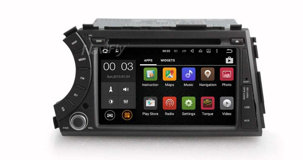 "ready stock 7"" 2din Android 5.1.1 car dvd gps for ssangyong Kyron Actyon 3G,Wifi,BT,support dvr,OBD2,quad core,1024x600,russian"