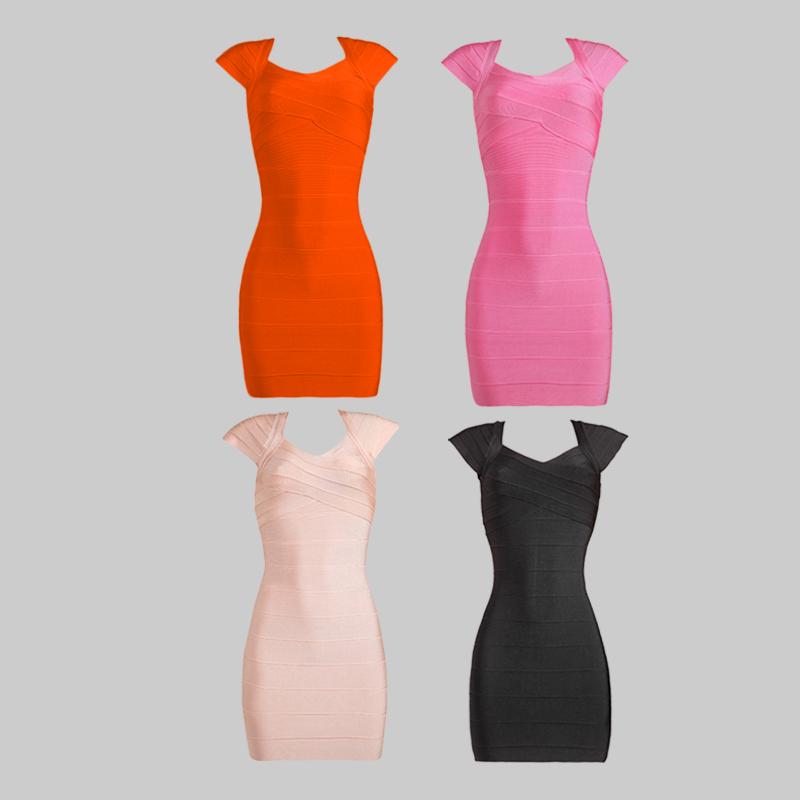 Wholsale Short Dresses 2016 Women's Elegant Dress Bodycon Elastic Short Cap Sleeve Cocktail Party Dresses(China (Mainland))