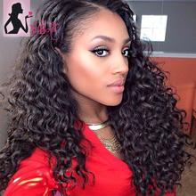 Unprocessed Deep Wave Virgin Hair 30pcs 100% Natural Human Hair Wave Bundles Brazilian Virgin Hair Can Be Dyeable And Bleachable(China (Mainland))