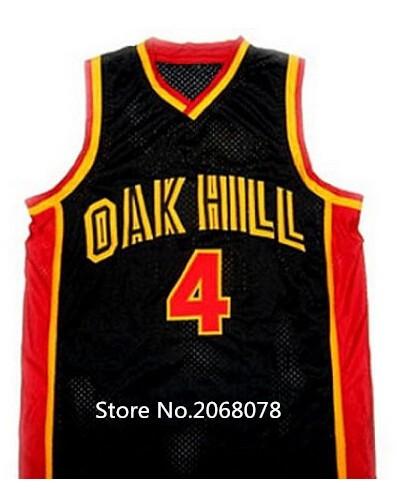 Rajon RONDO JERSEY,#4 Rajon Rondo Oak Hill High School Throwback Basketball Jerseys, Men's Double Stitched Rajon Rondo Jersey(China (Mainland))