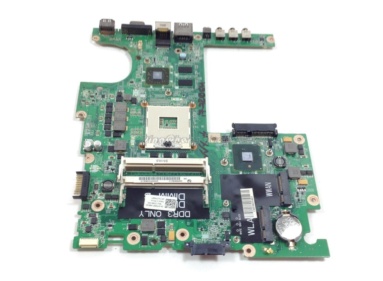 laptop Motherboard for dell studio 1557 0TR557 CN-0TR557 DA0FM9MB8D1 for intel with 4 video chips non-integrated graphics card<br><br>Aliexpress