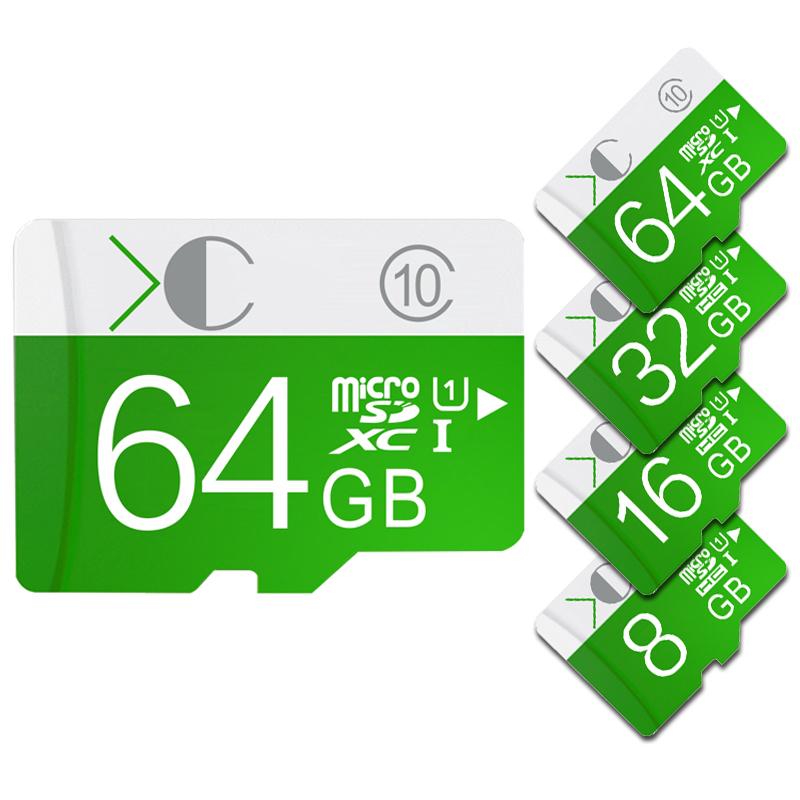 White box Package green memory card usb flash pen drive Memory Card micro sd card 32GB Class 10(China (Mainland))