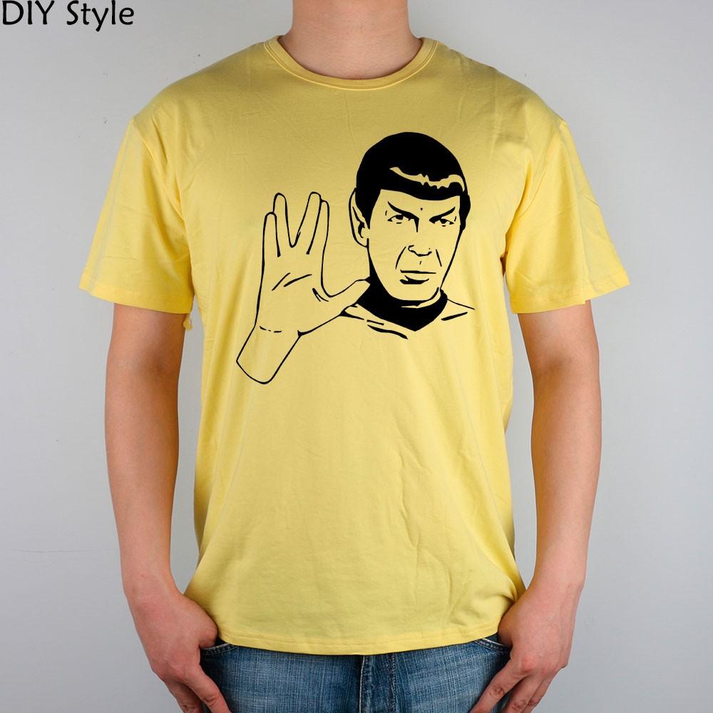 LIVE LONG AND PROSPER SPOCK STAR TREK men short sleeve T-shirt new arrival Fashion Brand t shirt for men  HTB1jsBiMpXXXXcDaXXXq6xXFXXXk