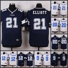 HOT Elite men Dallas Cowboys 21 Ezekiel Elliott 20 Darren McFadden 12 Roger Staubach 9 Tony Romo 8 Troy Aikman D-4(China (Mainland))