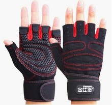 New Fitness Exercise Training Gym Gloves Multifunction For Men And Women Sweat Absorption Friction Resistance Half