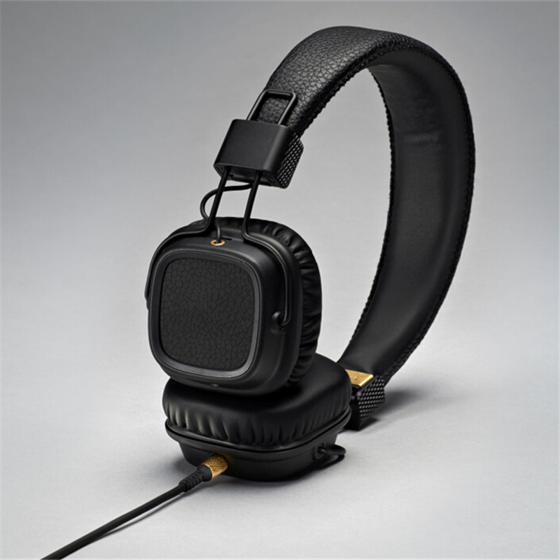 Brand New Majors II Headphone Good Bass with Mic Separable Cable Noise Cancelling DJ Headset Studio Monitor HiFi Auriculares(China (Mainland))