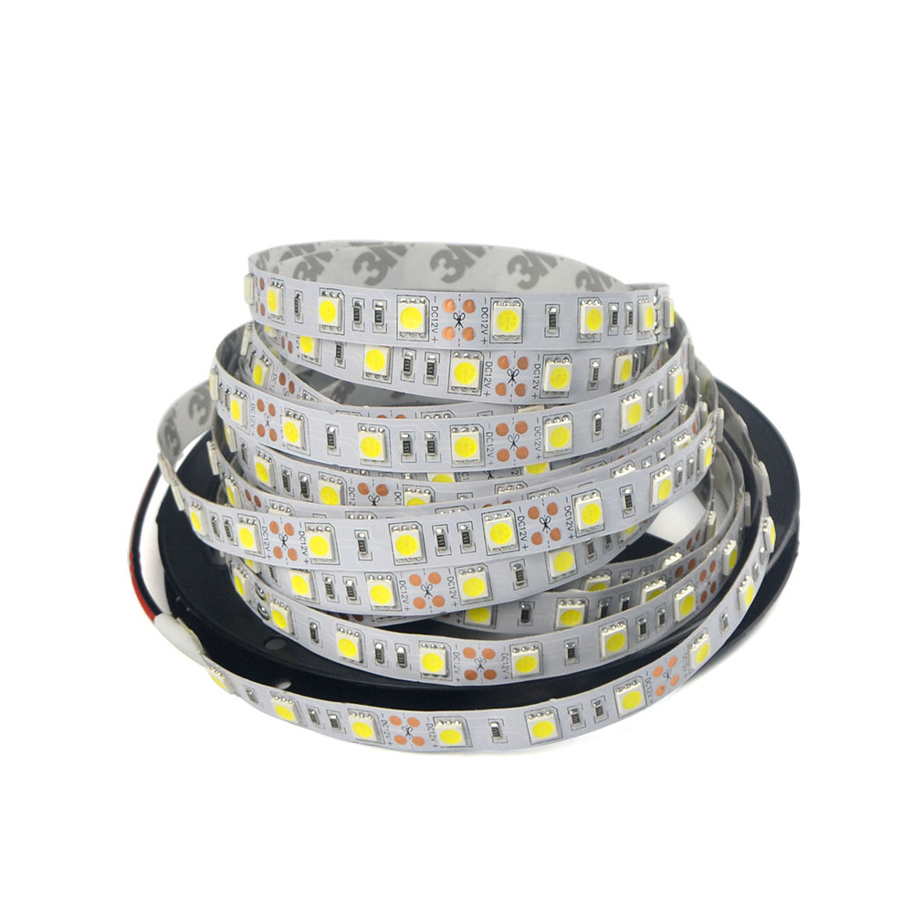 1Pack DC 12V 5M / 300 LEDs String light 5050 SMD RGB For Holiday Christmas Party Indoor Decoration LED Strip Ribbon lamp Tape(China (Mainland))