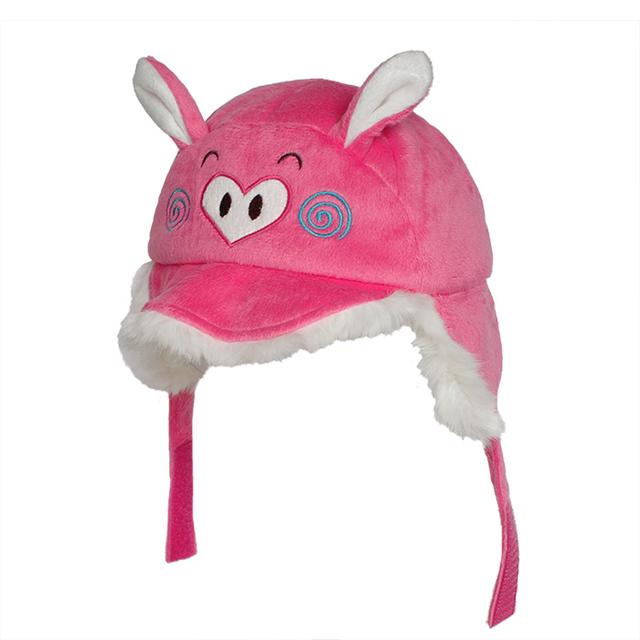 Новое поступление Kenmont зима дети дети Earflap бомбардировщик Hat руна ручной ушанка авиатор вязаная шапка Cap россия 4826
