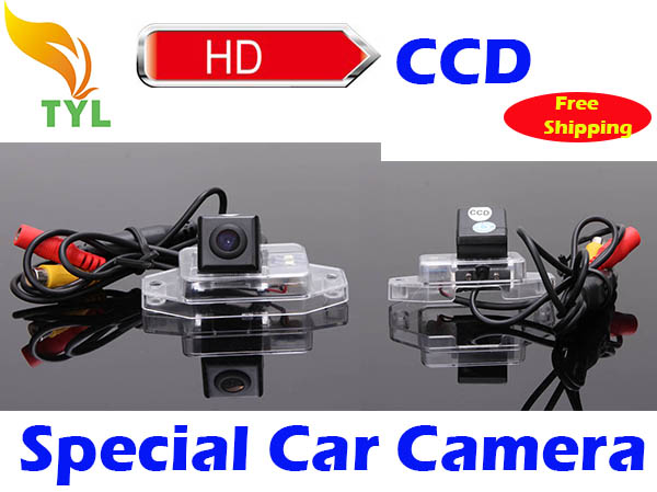 Freeshipping CCD Car Reverse Camera for Toyota Land Cruiser 120 Series with Backup Rear View Parking Kit Night Vision(China (Mainland))