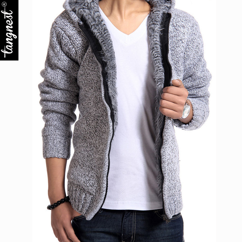 Blusas Masculinas Winter Sweater Men 2015 New Fashion Spring Autumn Thick Hooded Sweaters Cardigan Clothing Free Shipping Одежда и ак�е��уары<br><br><br>Aliexpress
