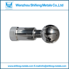 "2016 Beer Brewing Size:38mm(ca.1.5"") Ss304 Rotary Cleaning Ball, Spray Tank Ball,tri-clamp 50.5mm Sanitary Fittings(China (Mainland))"