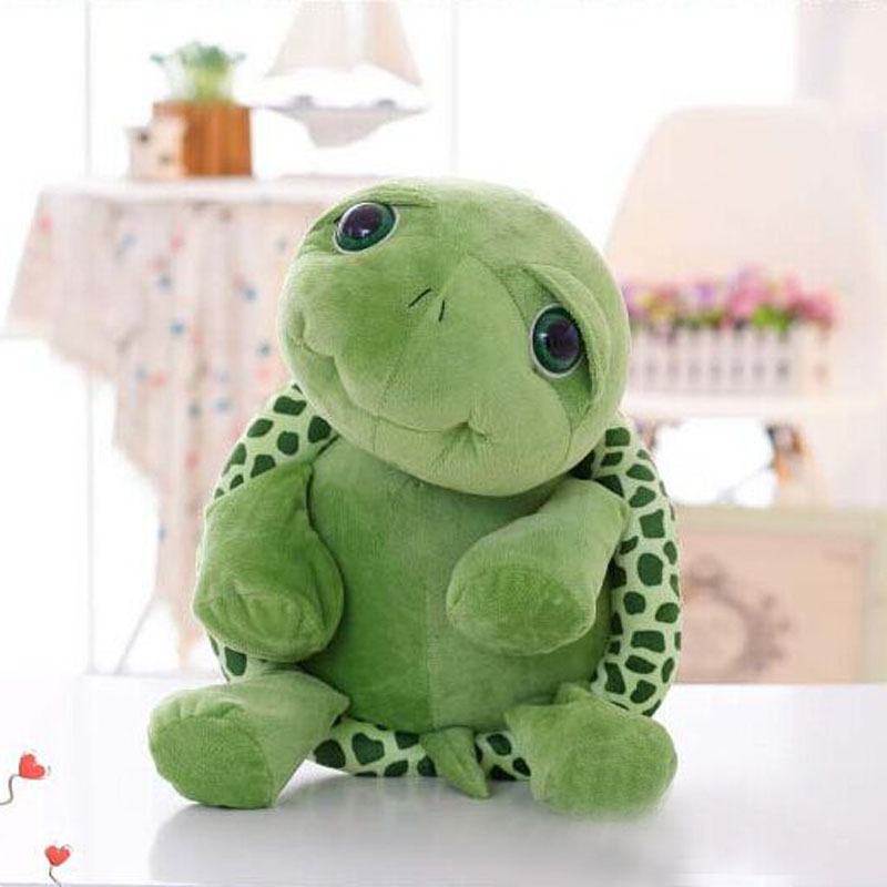 Sales 1pcs 20cm Me to you teddy doll plush toys cute baby stuffed animals big eyes turtle toy story plush free shipping(China (Mainland))