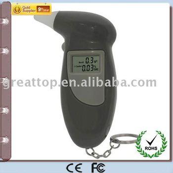 Digital Breath Alcohol Tester with 5pcs mouthpiece - GT-ALT-07-2