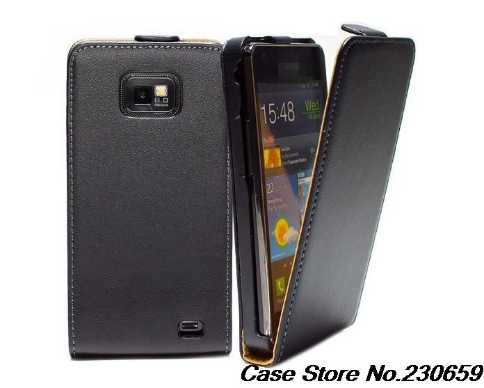 DT1 Genuine Leather Case Samsung Galaxy S2 Plus GT-I9105 Flip Cover - Colourful case store