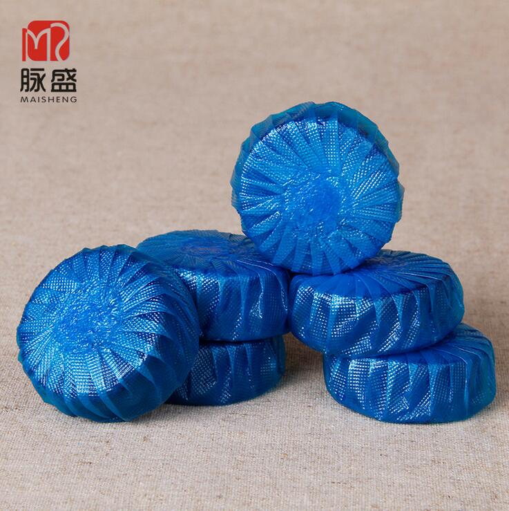 2016 New Lot Households Magic Automatic Flush Toilet Cleaner Fragrant Ball Blue Bubble Cleaning Deodorizes Bathroom Tools(China (Mainland))