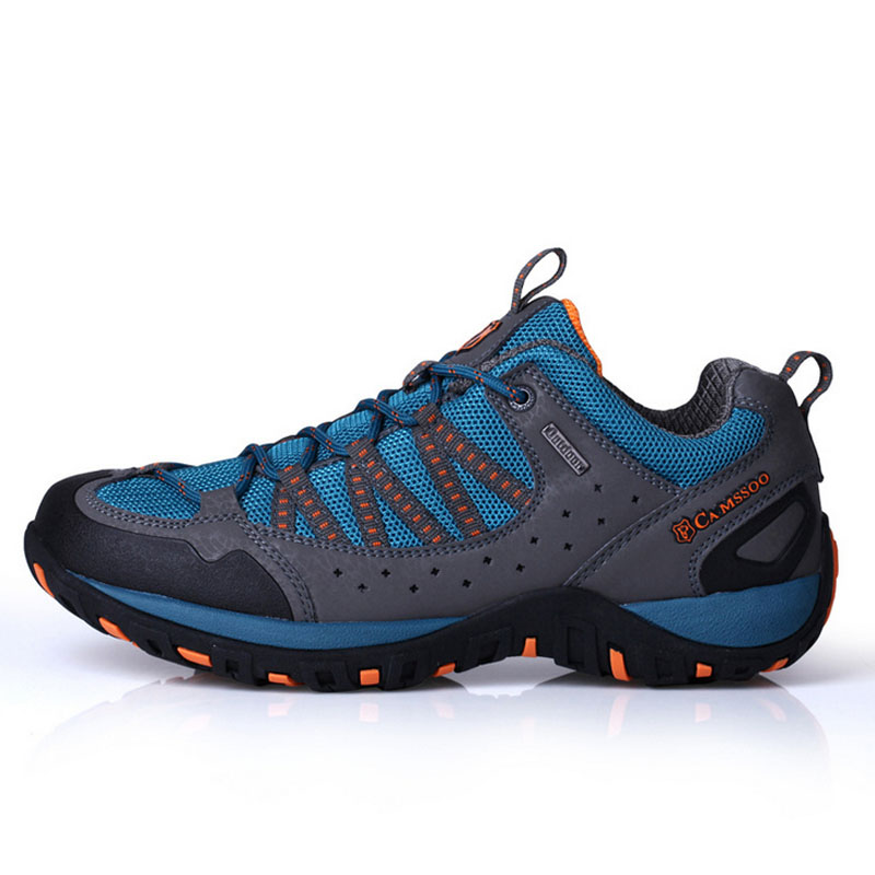 High Quality CAMSSOO Outdoor <font><b>Hiking</b></font> <font><b>Shoes</b></font> Non-slip Breathable Men Women Mountain Climbing <font><b>Shoes</b></font> Unisex Trekking Footwear Onsale