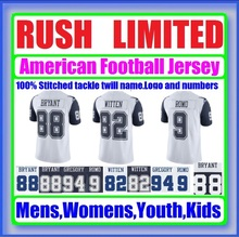 Color Rush Limited Jersey Dez Jason Custom Bryant Witten Cheap Authentic Sports Jerseys Dak Tony Direct Prescott Romo Elliott(China (Mainland))