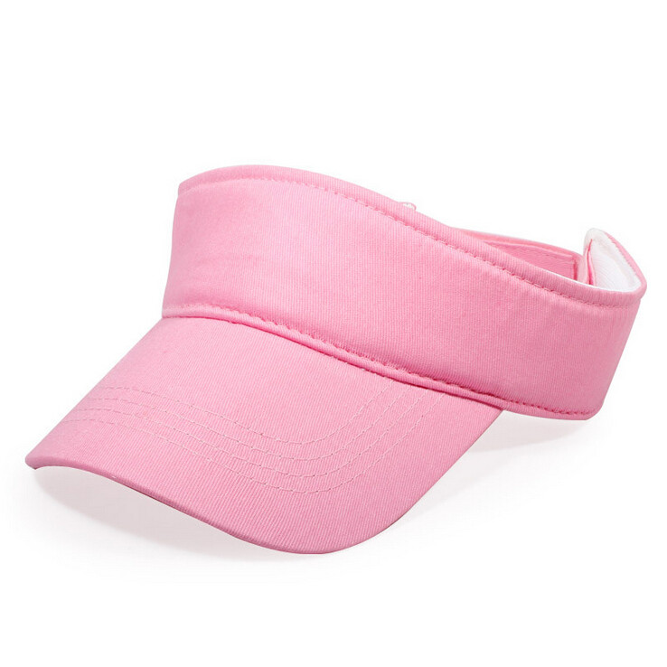 New Children Kids Cotton Empty Top Hat Solid Sun Hat Visor Hat Free Customized Wholesale And Retail Group Advertising Cap(China (Mainland))