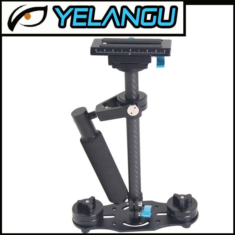 YELANGU Affordable 40CM Black Carbon Fiber Handheld Dslr Camera Stabilizer<br><br>Aliexpress
