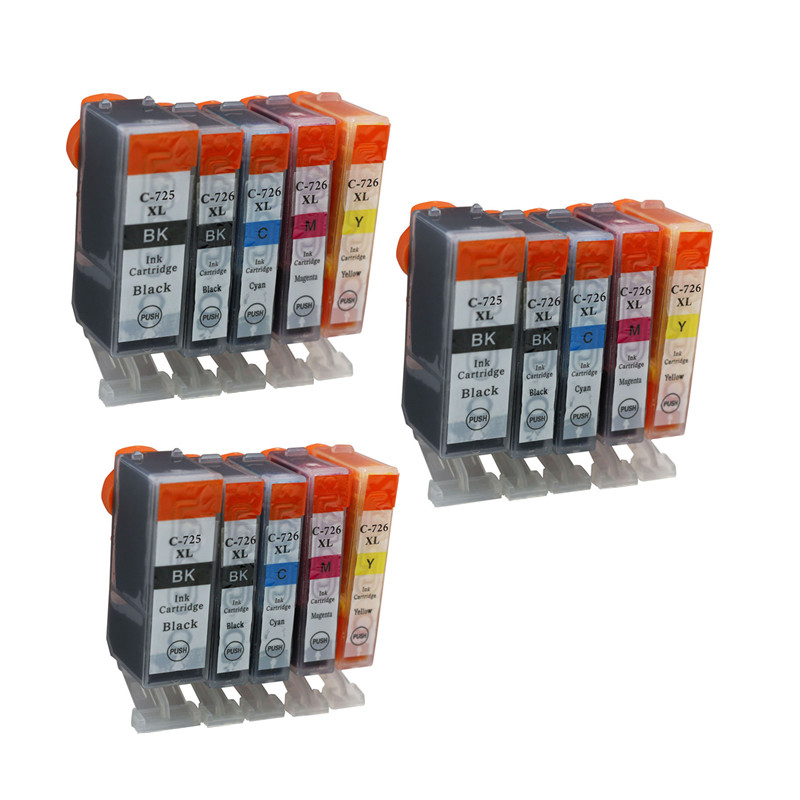 15PK Compatible Ink Cartridge For Canon Pixma MG6170/MG6270/MG8170/MG8270 For Canon Printer Cartridge Bulk Ink No.233<br><br>Aliexpress