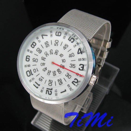 News MENS Three Circle Stainless Quartz Wrist Watch(China (Mainland))