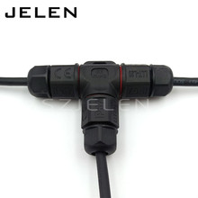 Buy L20 3T, 3 pin Waterproof Connector, T- type power connector,IP67, Mining Lighting connector cable installation LED connector for $7.48 in AliExpress store