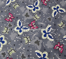 Buy hd071 1 Yard Cotton Woven Fabric Butterfly Gray, W140 for $9.00 in AliExpress store