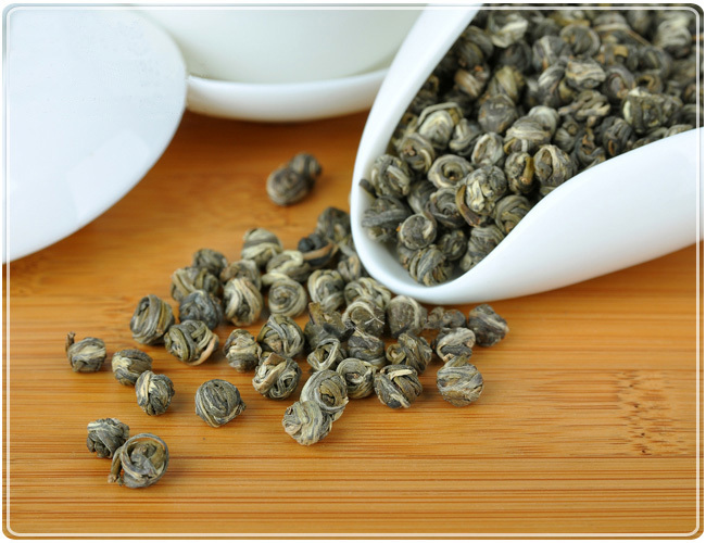 250g High Aroma Dragon Ball Jasmine Tea Chinese Green Tea Jasmine Flower Tea Long zhu<br><br>Aliexpress