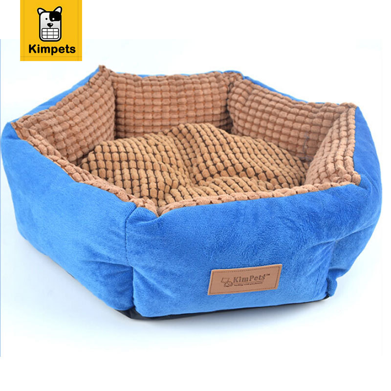 New High Quality Comfortable Warm Dog Bed Removable Sofa Bed For Cats Dogs Pets Available On Both Sides Small Medium Large(China (Mainland))