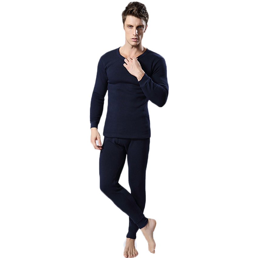 Free shipping hot sale new thermal underwear women men winter thickening warm long johns top+pant sexy soft underwears 17hfx(China (Mainland))
