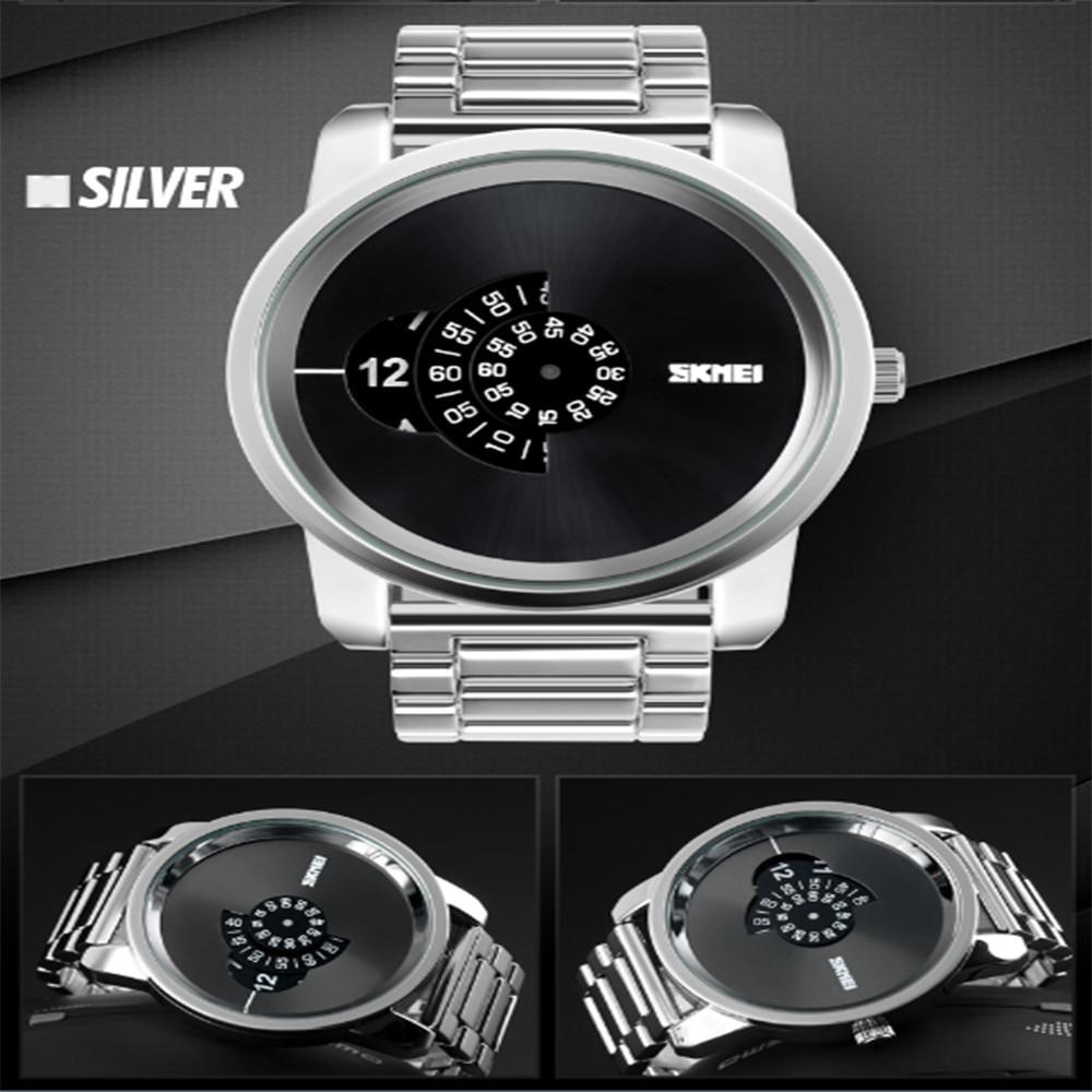 Skmei мужская Мода Цифровые Часы Рабочего Времени 30 м Водонепроницаемый Мужская стиль Цинковый Сплав