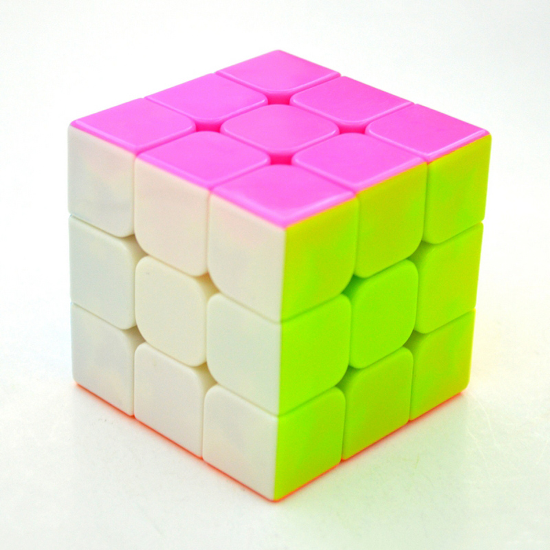 3*3*3 Speed Puzzles Magic Cubes For Kids Child Education Game Toy Professional Magico Cubo(China (Mainland))