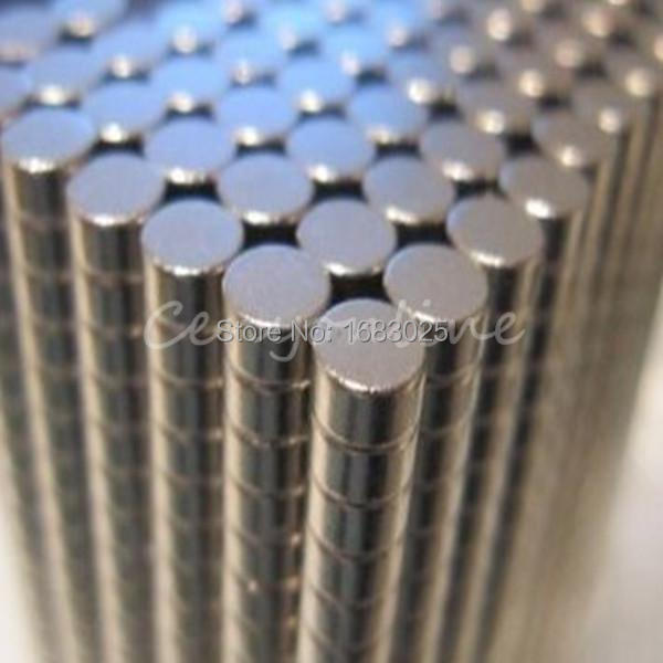 100pcs/lot 2mm x 3 mm Disc Round Rare Earth Neodymium Cylinder Strong Magnets Craft Model DIY Tool N35<br><br>Aliexpress