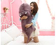 new lovely plush purple cartoon crocodile toy stuffed crocodile doll gift about 120cm