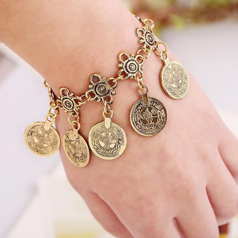 New Design Bohemian Style Jewelry Fashion Vintage European Exaggeration Retro Pendant Turkish