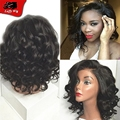 #613 Full Lace Blonde Human Hair Wigs Lace Front Wig With Natural Hairline Brazilian Curly Wigs Free Part Glueless Full Lace Wig