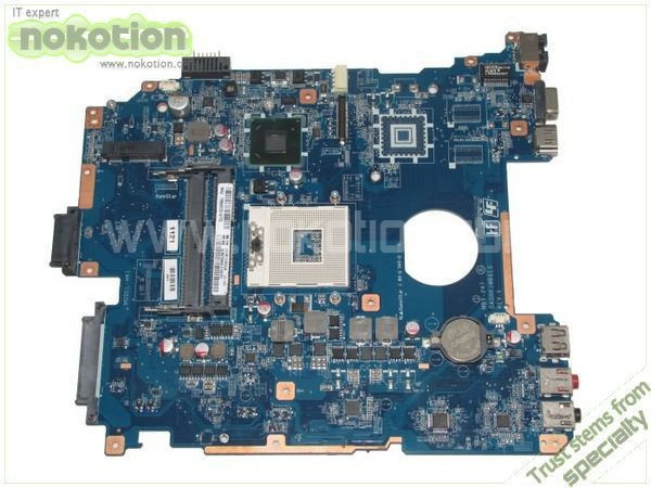 Фотография Laptop Motherboard for Sony Vaio PCG-71912L VPCEH14FM A1827699A MBX-247 DA0HK1MB6E0 Intel HM65 GMA HD DDR3 Mother Board