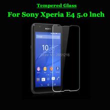 """Buy Sony Xperia E4 E 4 Tempered Glass 9H 2.5D Premium Screen Protector Film Sony Xperia E4 E2105 E2114 E2115 E2124 Dual 5.0"""" for $1.32 in AliExpress store"""