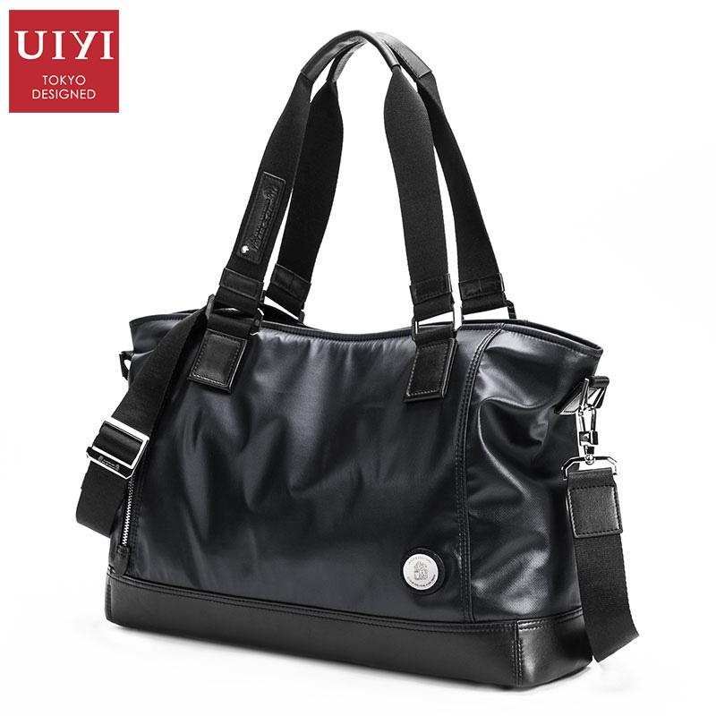 UIYI Brand Man Bag Senior Nylon Mens Totes Business Male Black Laptop Handbags & Crossbody Bags Boy With Bag Men Shoulder Bags(China (Mainland))