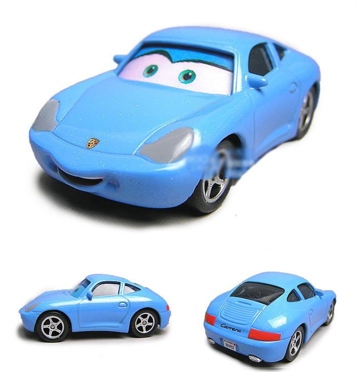 100% Original Pixar Cars 2 Beauty Sally Cozy Cone Diecast Metal Classic Toy cars for Kids Children(China (Mainland))