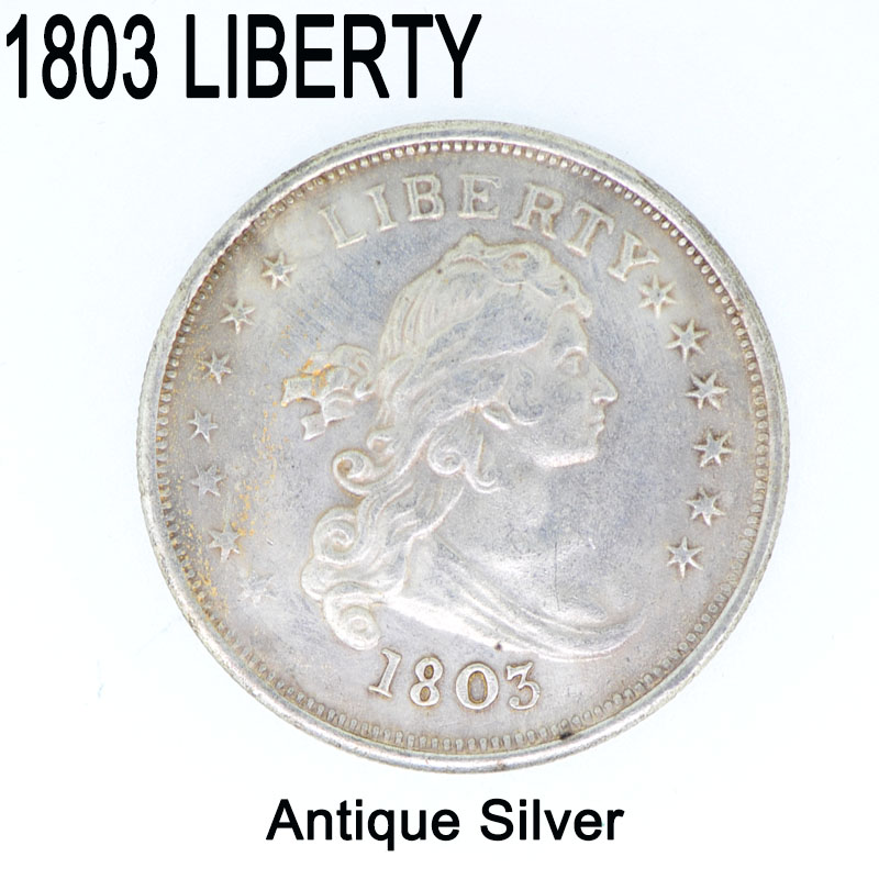 United States Coin 1803 silver coin liberty icons of the USSR collect on delivery dollar copy coins bullion commemorative(China (Mainland))